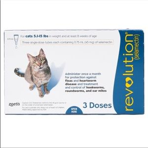Other - Cat revolution flea and tick 2 boxes
